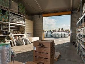 temporary garden centre warehouses