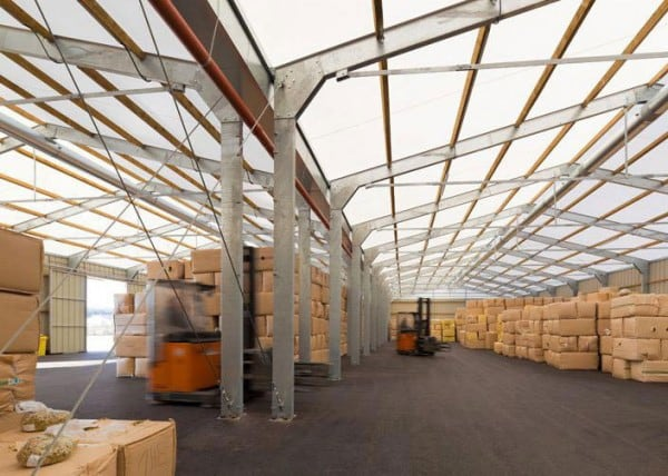 logistical temporary buildings