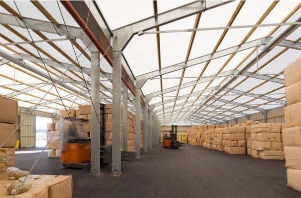 logistical temporary buildings
