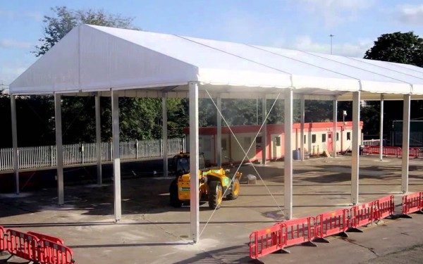 Temporary Building Construction
