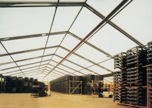 Temporary Building Storage