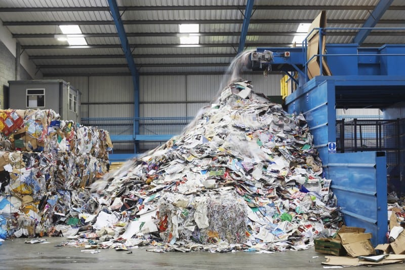 Recycling Centre Temporary Buildings and Warehouses