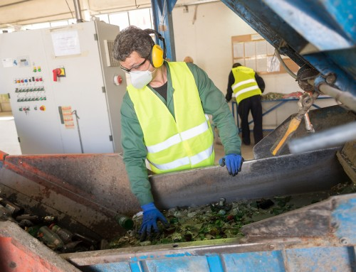 Temporary Buildings for Recycling Solutions