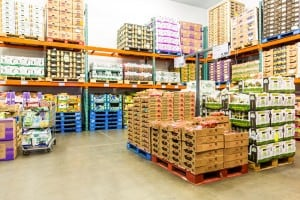 Temporary buildings for retailers stock