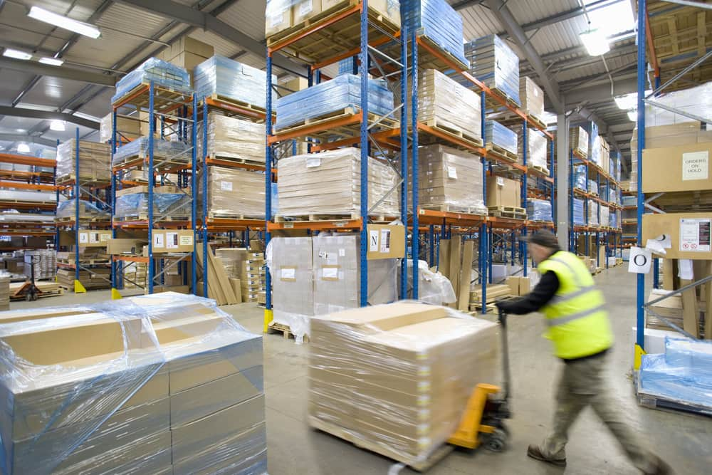 temporary buildings for warehouse and