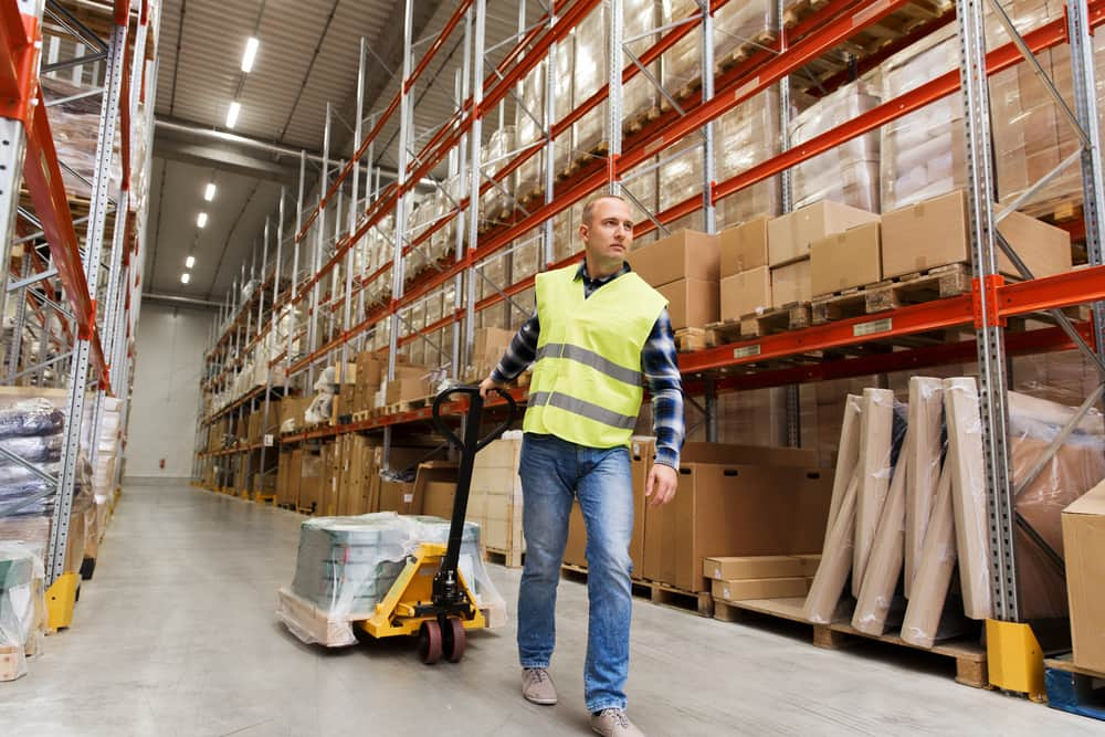 temporary warehouse and storage for