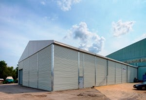 Non-Insulated Temporary Storage Buildings
