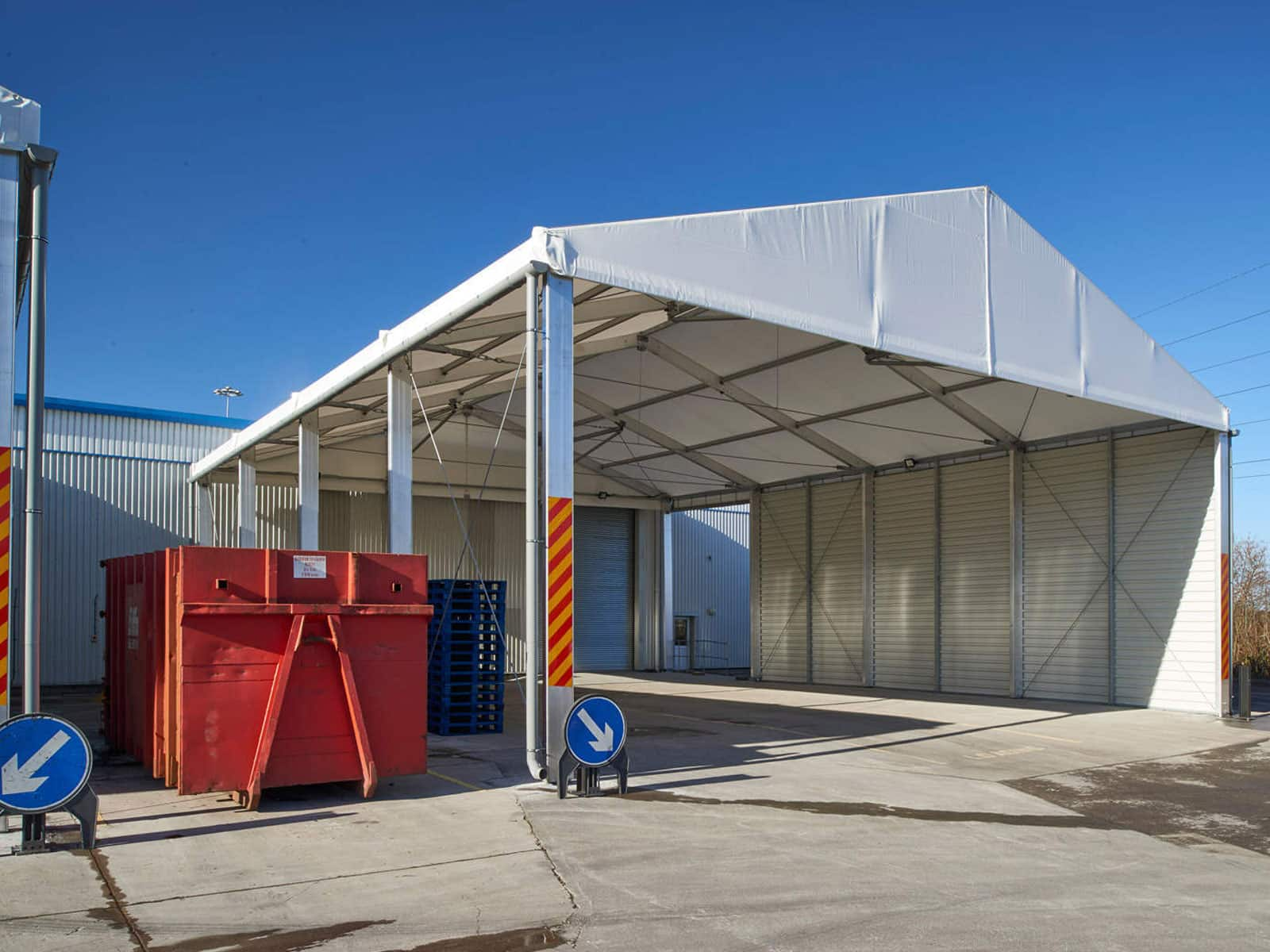 temporary buildings | canopy buildings | temp re build ltd
