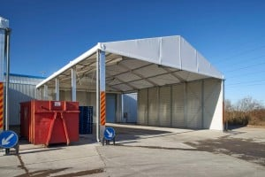 canopy structure for logistical solutions