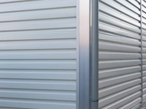 Steel Cladding Temporary Building