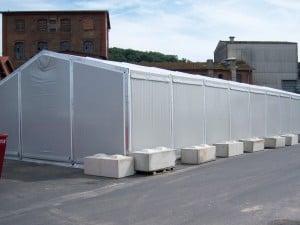Temporary Storage Building