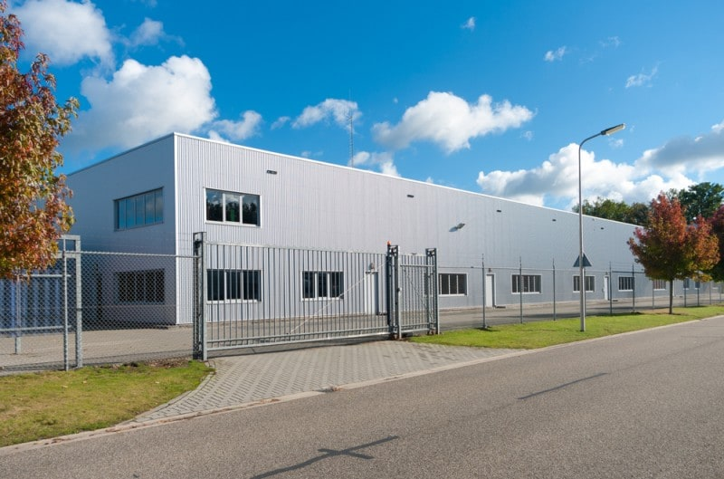 Temporary buildings for medical storage facilities