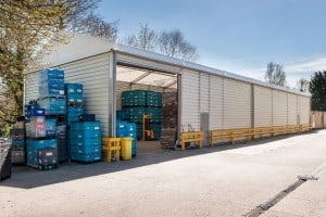 Uninsulated Temporary Building