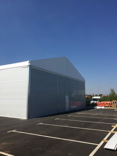 Temporary Building from Temp-re Build